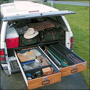 Truck Bed Storage on Pinterest | Truck Bed, Truck Bed ...