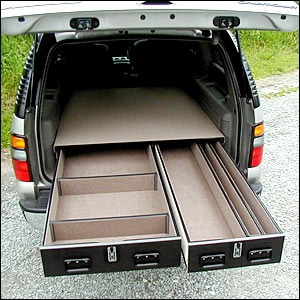 Truck Vault Offset Drawer Units