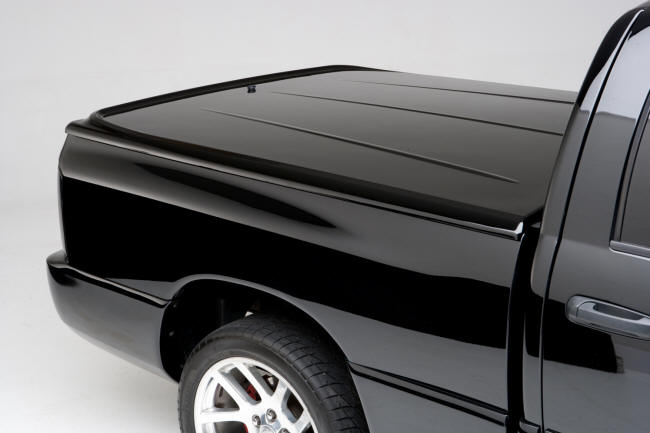 Undercover Lux Painted To Match Hard Truck Tonneau Bed Cover