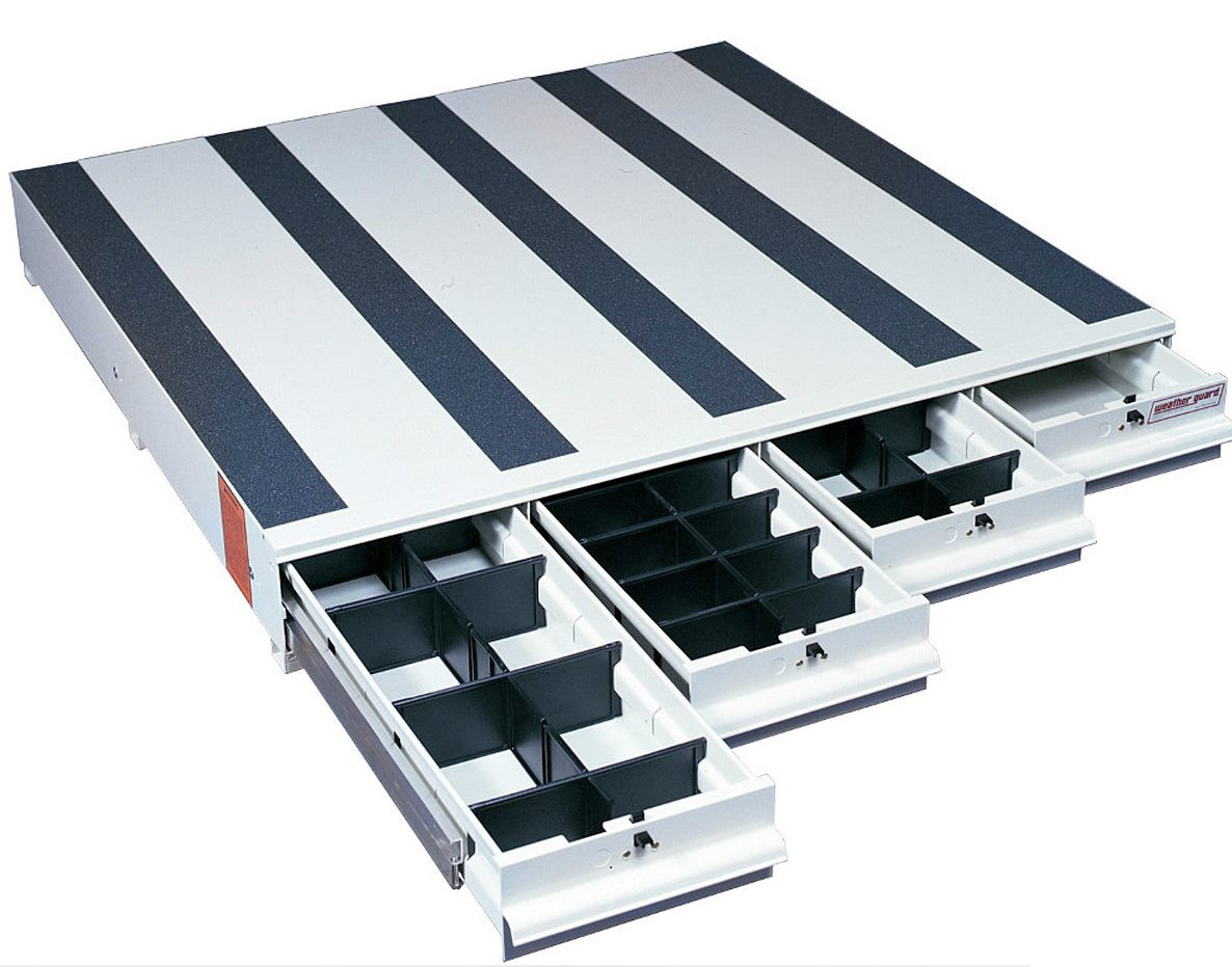Weatherguard itemizer pull out storage drawers - Truck bed boxes drawer ...