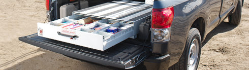 Weather Guard Pack Rat Rollout Truck Drawer Units