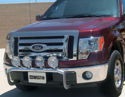 Light bars for trucks truck light bars led light bars westin off road light bar provides mount tabs for up to four 8 inch off road lights for full size trucks and up to three 8 mozeypictures Images
