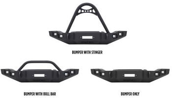 Westin Marksman Style Jeep Front Bumpers