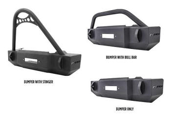 Westin Scope Style Front Jeep Bumpers