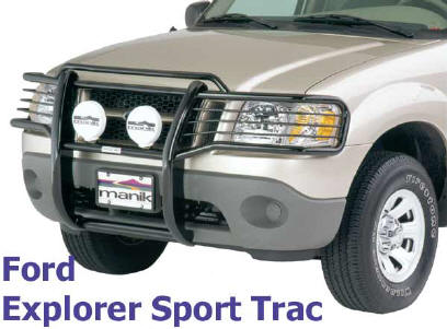 Grill guard that really accent the front of any vehicle