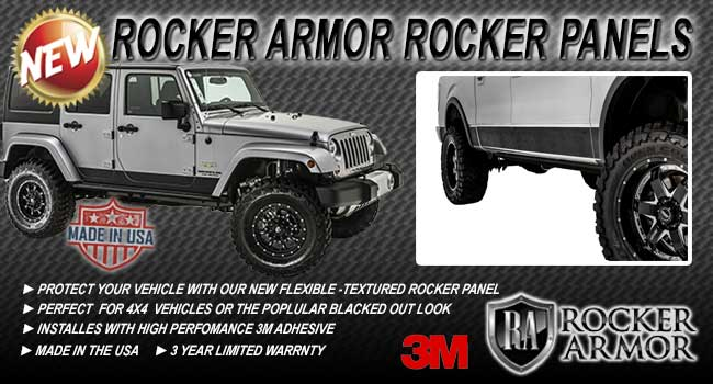 Rocker Armor Black Rocker Panels