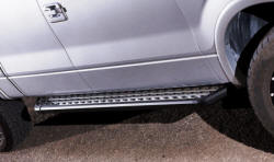 NXT running boards installed