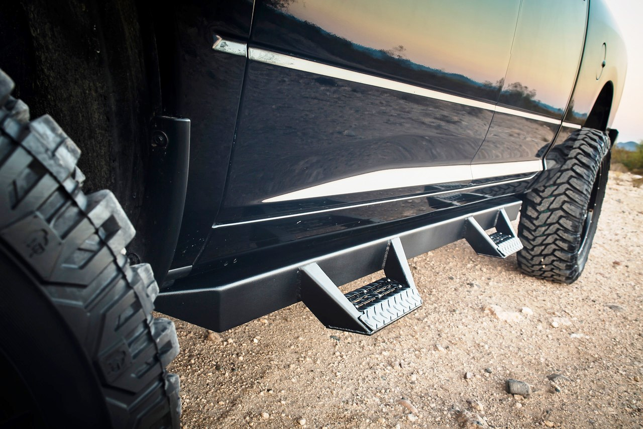 Ici Magnum Rt Step Bars Rt Hooped Truck Steps