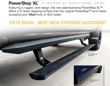 Powerstep Automatic Retracting Running Board