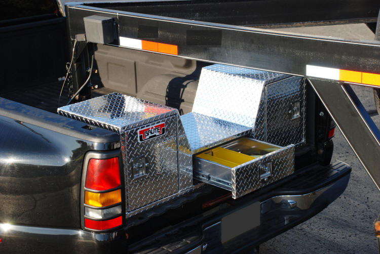 Goose Neck Truck Tailgate Tool Box