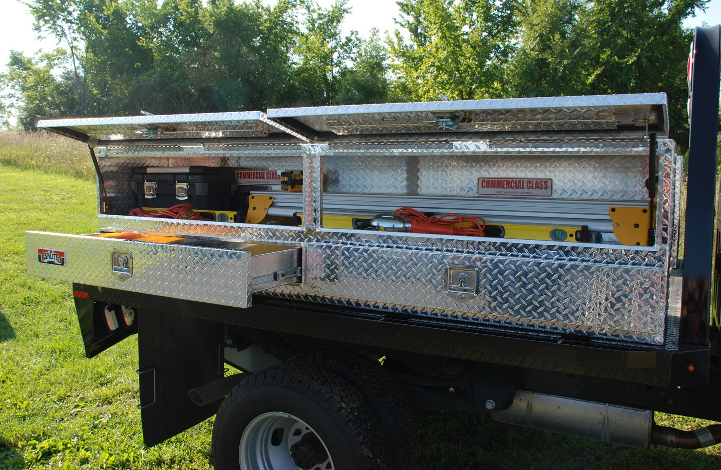 Tool Box For Truck: Stake Bed High Capacity Tool Boxes