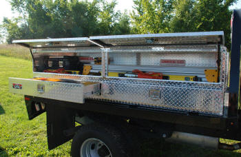 Flat Bed, Stake Bed Tool Boxes