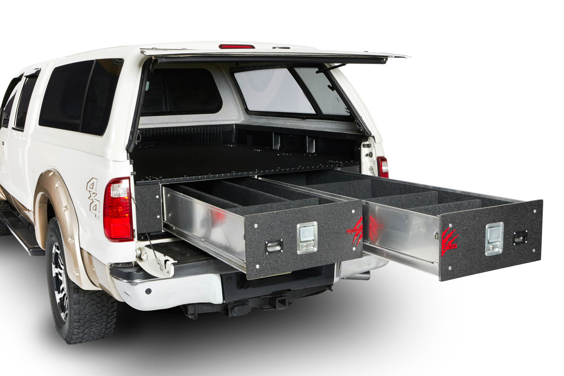 cargoease lockers truck bed drawers