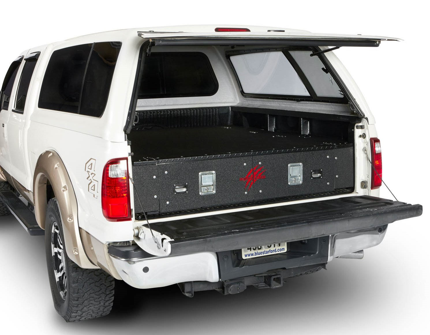 Truck Bed Drawer >> CargoEase Truck Bed Lockers