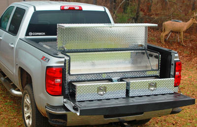 Corbox Truck Bed Toolboxes Fits Under Tonneau Covers