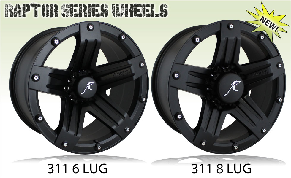 Raptor Series Wheels 311 Indecent Exposure