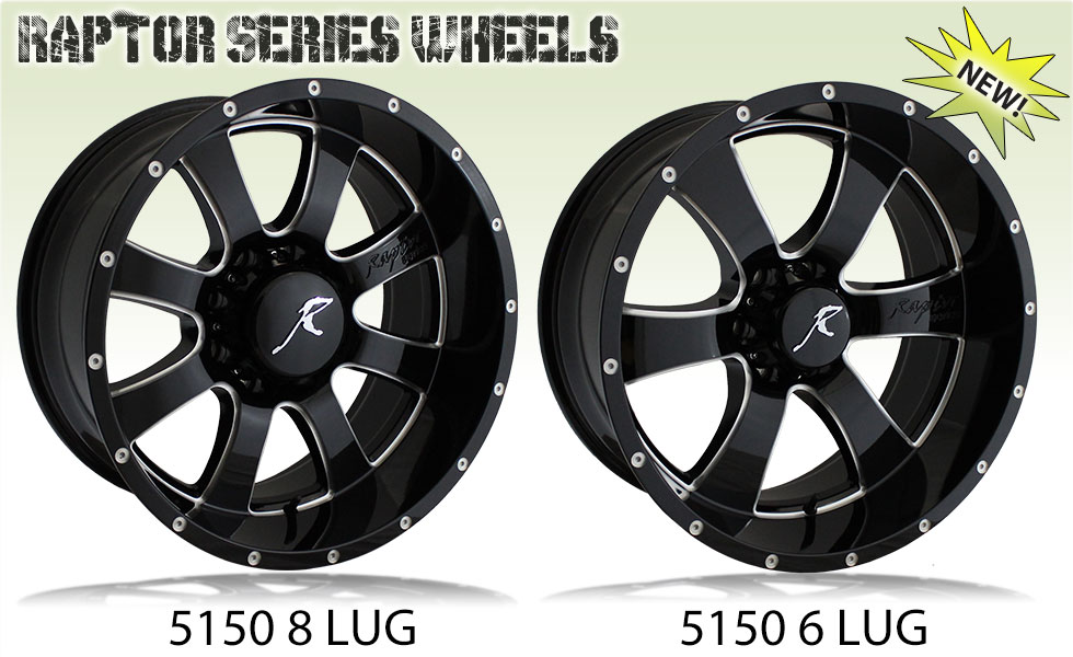 Raptor Series Wheels 5150 Criminally Insane